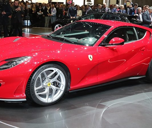 The New Ferrari 812 Superfast Unveiled At The Geneva Motor Show Is Sexy AF!